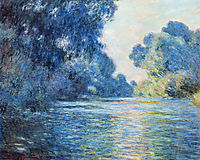 Morning on the Seine at Giverny 02, 1897, monet