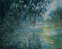 Morning on the Seine in the Rain, 1898, monet