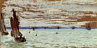 Open Sea, 1866, monet