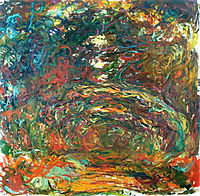 Path under the Rose Arches, Giverny, 1922, monet