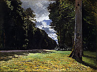 The Pave de Chailly in the Fontainbleau Forest, 1865, monet