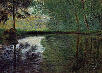 The Pond at Montgeron 2, 1876, monet