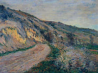The Road to Giverny 2, 1885, monet