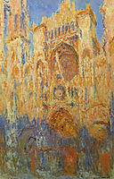 Rouen Cathedral, 1893, monet