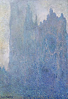 Rouen Cathedral in the Fog, 1894, monet