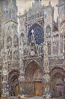Rouen Cathedral, Grey Weather, 1894, monet
