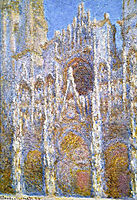 Rouen Cathedral, Sunlight Effect, 1894, monet