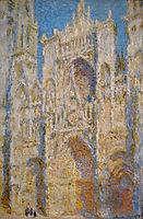 Rouen Cathedral, West Facade, Sunlight, 1894, monet