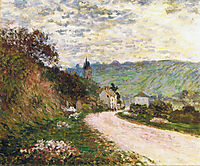 The Route a Vetheuil, 1878, monet