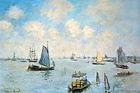 The Sea at Amsterdam, 1874, monet