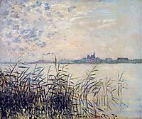 The Seine near Argenteuil, 1874, monet