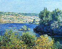 The Seine at Vetheuil, 1881, monet