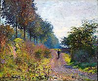The Sheltered Path, 1873, monet