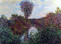 Small Branch of the Seine, 1878, monet