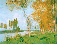The Spring in Argentuil, 1872, monet