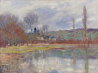 The Spring at Vetheuil, 1881, monet