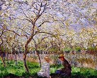 Springtime, 1886, monet