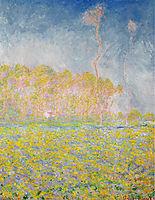 Springtime Landscape, 1894, monet