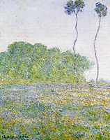 Springtime. Meadow at Giverny, 1894, monet
