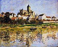 Vetheuil, The Church, 1880, monet