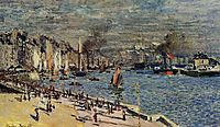View of the Old Outer Harbor at Le Havre, 1874, monet