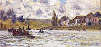 The Village of Lavacourt, 1878, monet