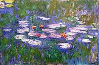 Water Lilies, 1919, monet