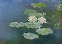 Water-Lilies, Evening Effect, 1897, monet