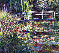 The Water Lily Pond, Harmony Rose, 1900, monet
