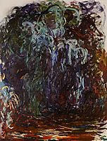 Weeping Willow, 1922, monet