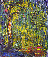 Weeping Willow, 1918, monet