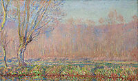 The Willows, 1885, monet