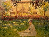 Woman in a Garden, 1876, monet