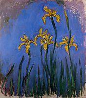 Yellow Irises, 1917, monet