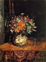 Bouquet of Flowers, monticelli