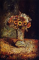 Flowers in a Vase, monticelli