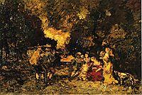 Garden Party, c.1879, monticelli