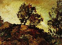 Rocky Landscape, monticelli