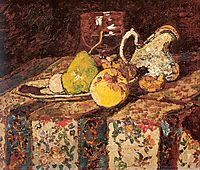 Still Life with White Pitcher, monticelli