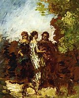 Three Friends, monticelli