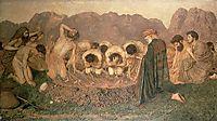 Elijah-s Sacrifice, 1863, moore