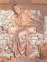 Pansies, c.1875, moore