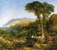 Amalfi Coast, 1868, moran