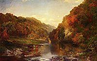 Autumn on the Wissahickon, 1864, moran