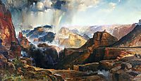 The Chasm of the Colorado, 1874, moran