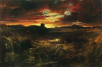 Childe Roland to the Dark Tower Came, 1859, moran