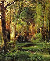 Forest Scene, 1870, moran