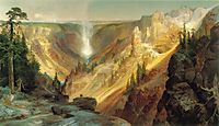 The Grand Canyon of the Yellowstone, 1872, moran
