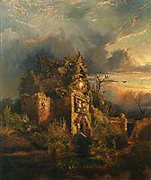 Haunted House, 1858, moran