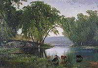 On the Catawissa Creek, 1862, moran